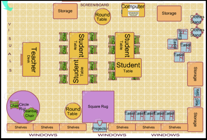 Classroom Layout Design Ideas : Marie max fritz classroom management